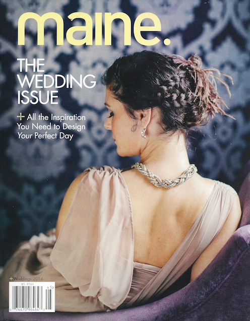 Maine Magazine Wedding Issue 2014 Cover