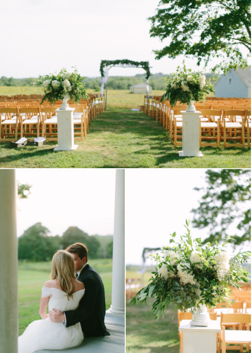 Maine Wedding at Laudholm Farm Wells