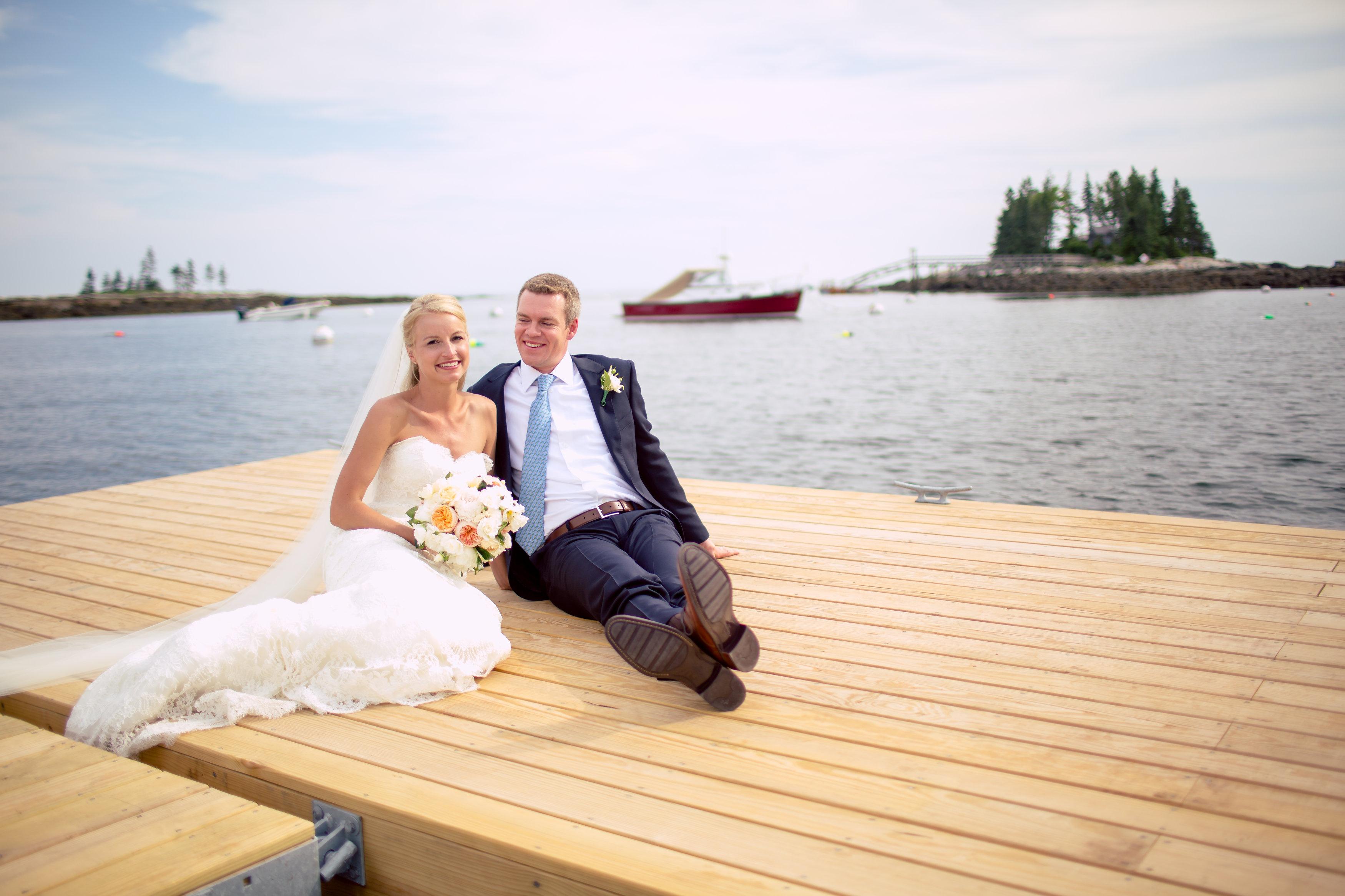 Newagen Seaside Inn Maine bride