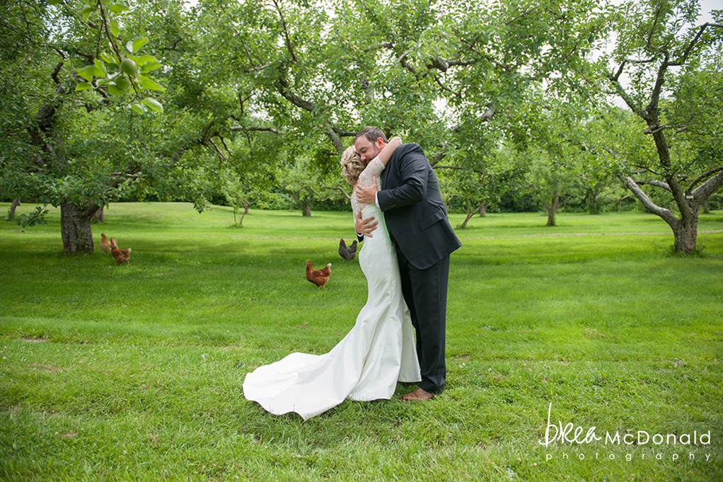 Clarks Cove Farm Wedding Maine
