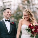 Style Me Pretty Feature: Kerry + Derek's Cozy Fall Wedding