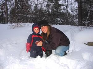 Kate & Wyatt - First Snow