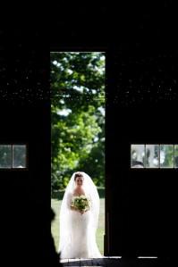 Stefanie's dramatic entrance.