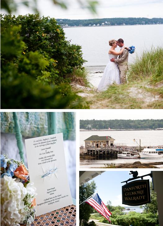 Boothbay Harbor Maine wedding planning florsit