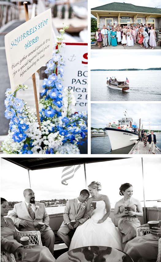 Boothbay Harbor Maine wedding flowers planning