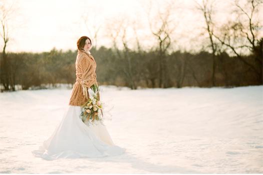 maine winter wedding 7