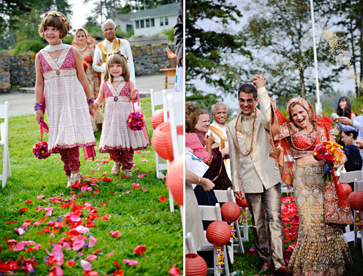 Maine Wedding Indian Inspired