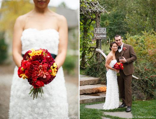 Maine Wedding Bouquet | Photo Credit: Nadra Photography
