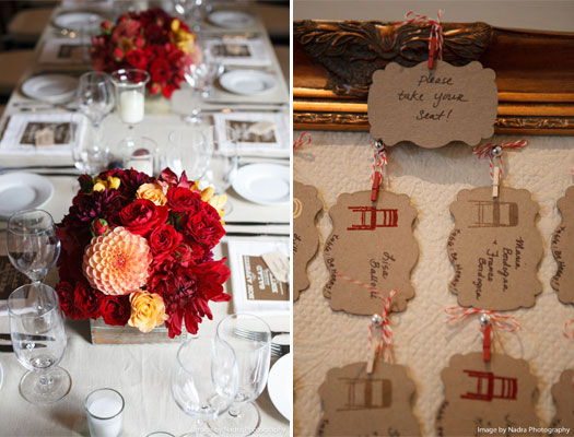 Maine Wedding Floral Design fall centerpieces hiddenpond kennebunkport  | Photo Credit: Nadra Photography