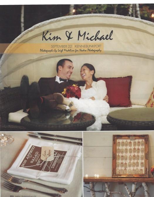 Hidden Pond Maine Wedding 1
