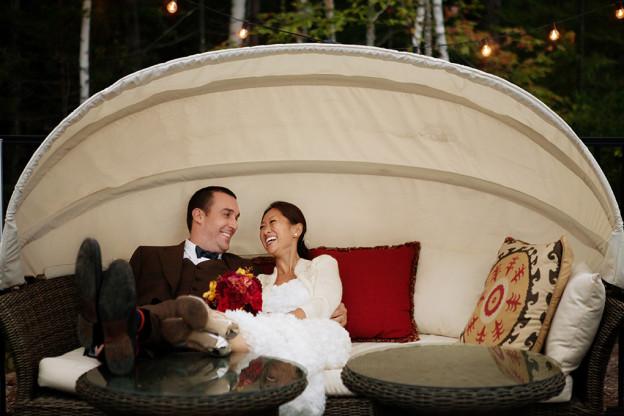 Hidden Pond Maine Wedding Photo Credit: Nadra Photography