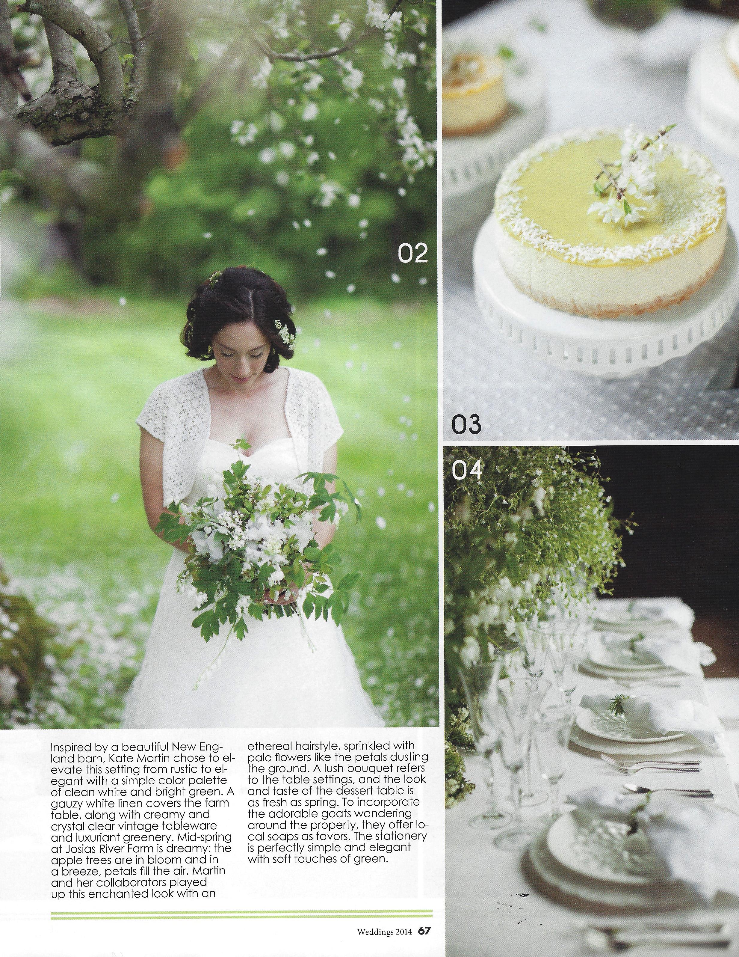Maine Wedding Floral Design Maine Wedding Flowers | Photo Credit: Geneve Hoffman Photography