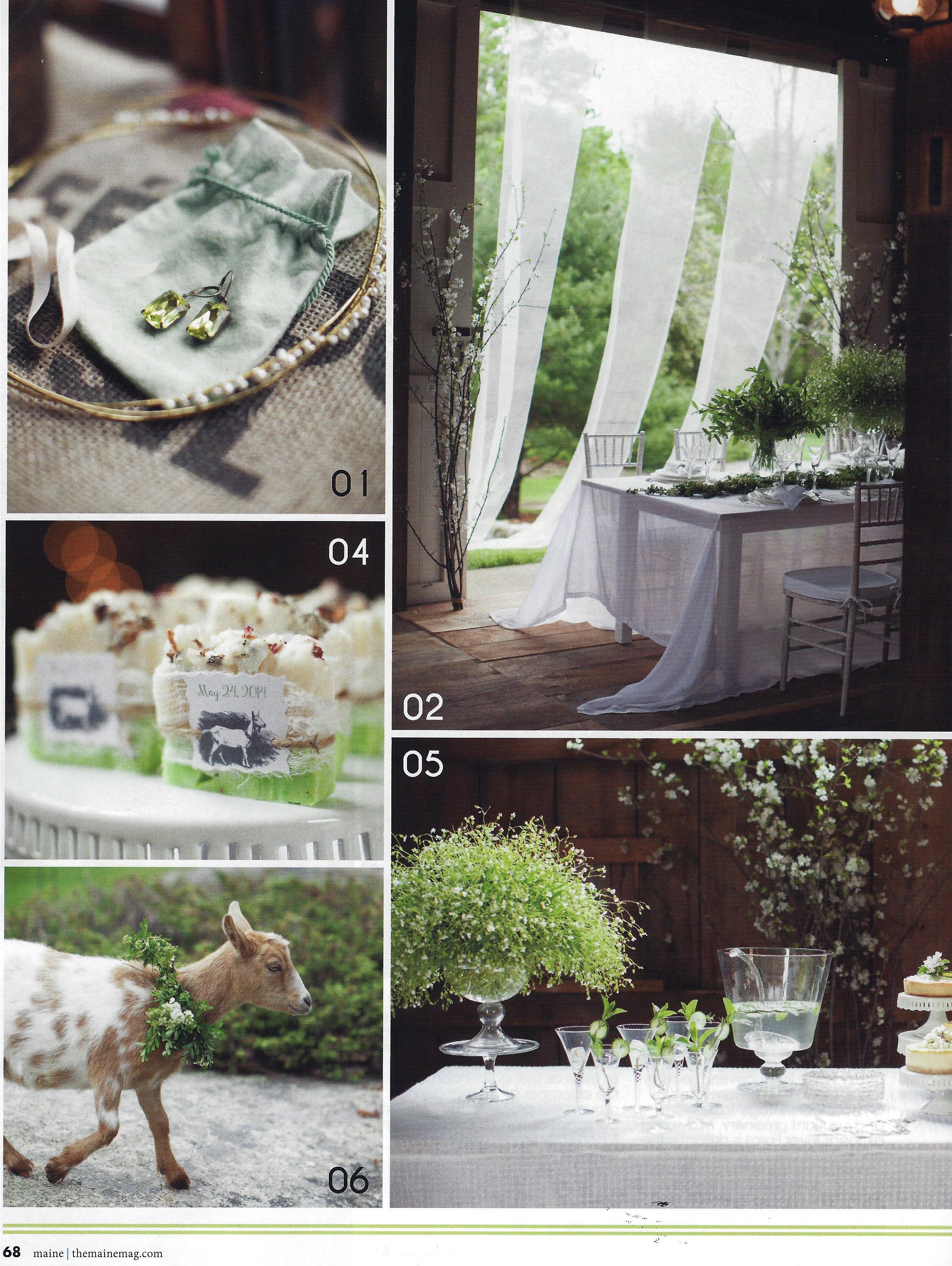 Farm Wedding Inspiration Maine wedding design  | Photo Credit: Geneve Hoffman Photography