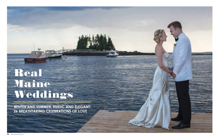 Maine Magazine Weddings 2015 | Photo: Fidelio Photography | See more at www.localhost/beautifuldays