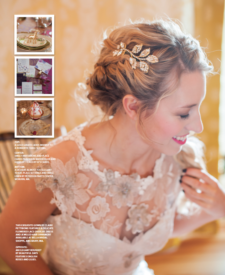 Seacoast Weddings Magazine 2015 | Photos by: Brea McDonald Photography | See more at www.localhost/beautifuldays