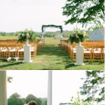 Laudholm Farm, Maine Wedding on Style Me Pretty