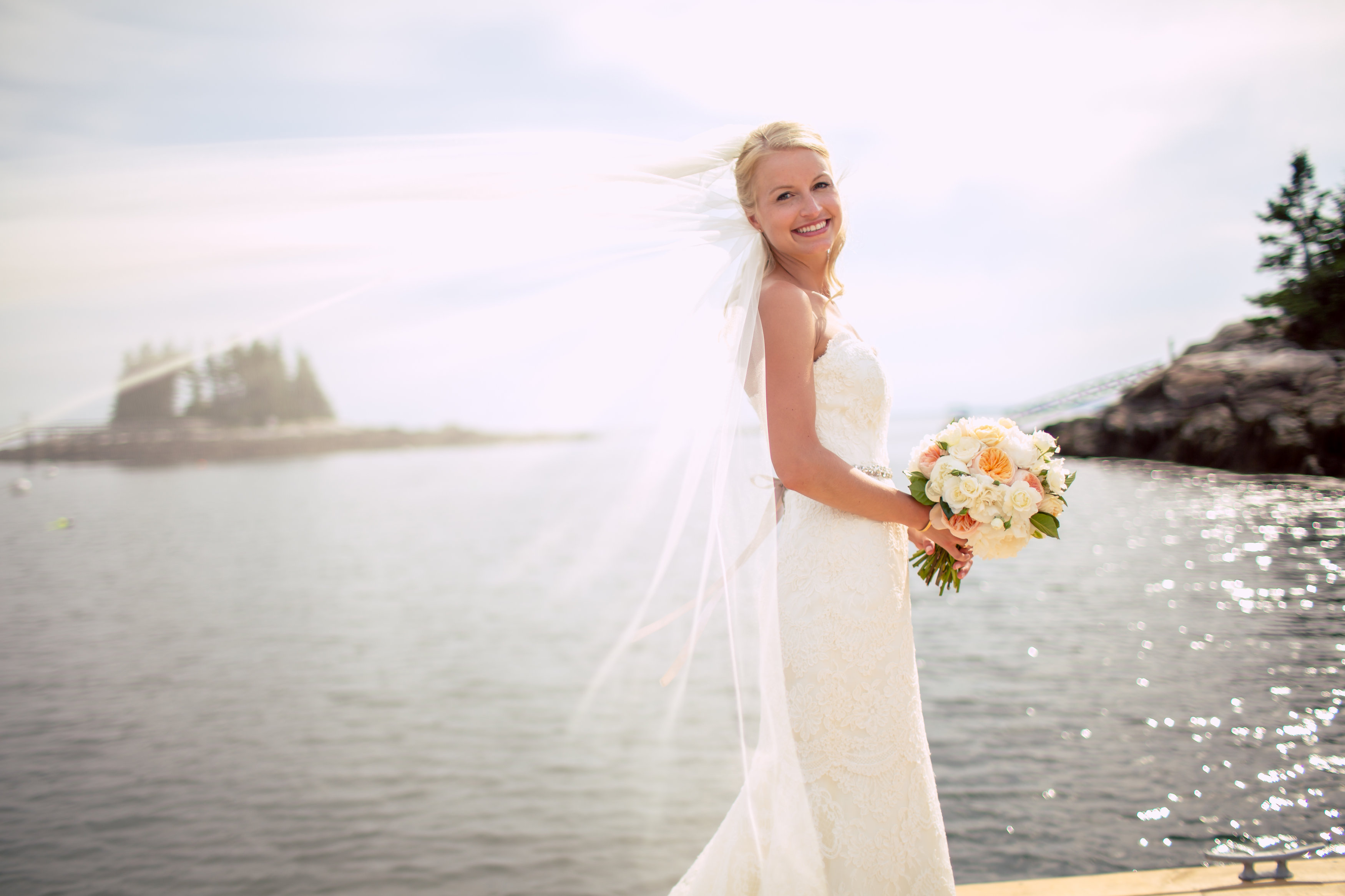 newagen seaside inn maine bride bouquet