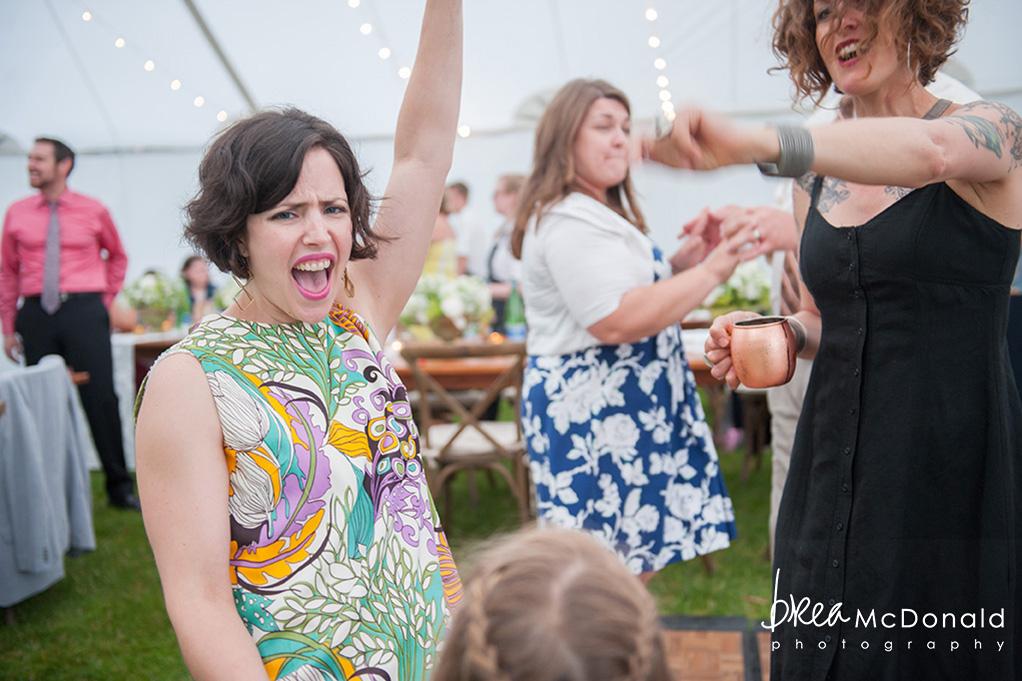 Clarks Cove Maine Wedding reception